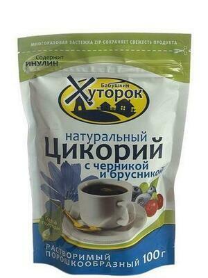 Цикорий Бабушкин Хуторок Черника/Брусника 100г/12