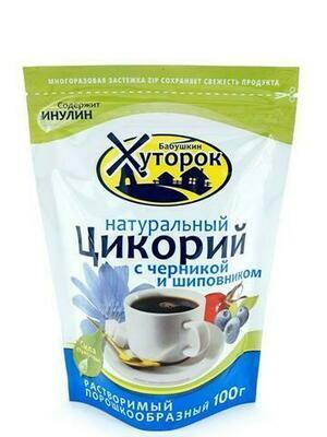 Цикорий Бабушкин Хуторок Черника/Шиповник 100г/12