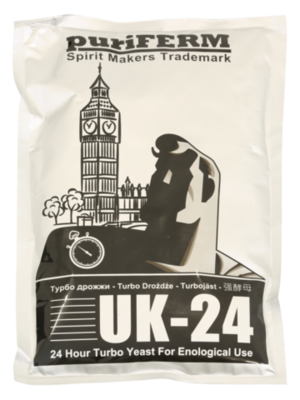 Турбо дрожжи Puriferm UK-24 175г