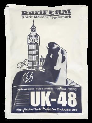 Турбо дрожжи Puriferm UK-48 128г