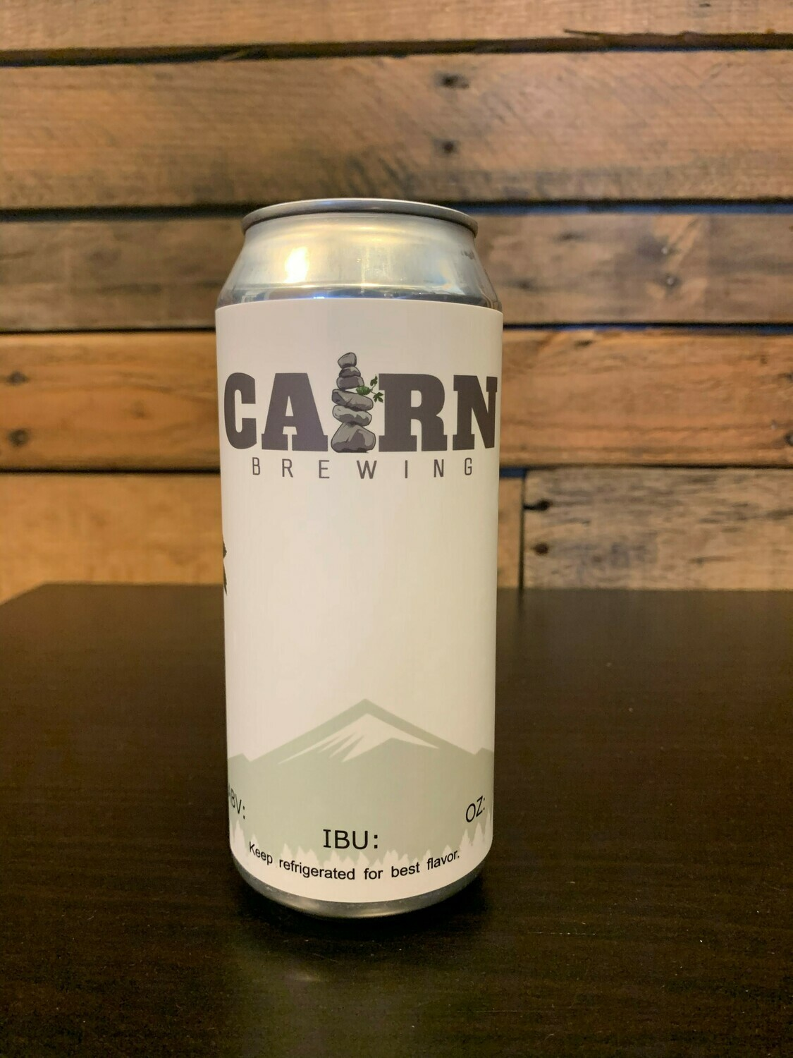16 oz Can of Cairn Beer