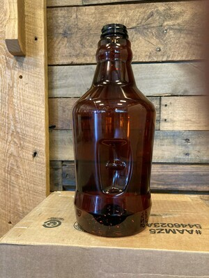 64 oz Recyclable No-Logo PET Growler and Fill