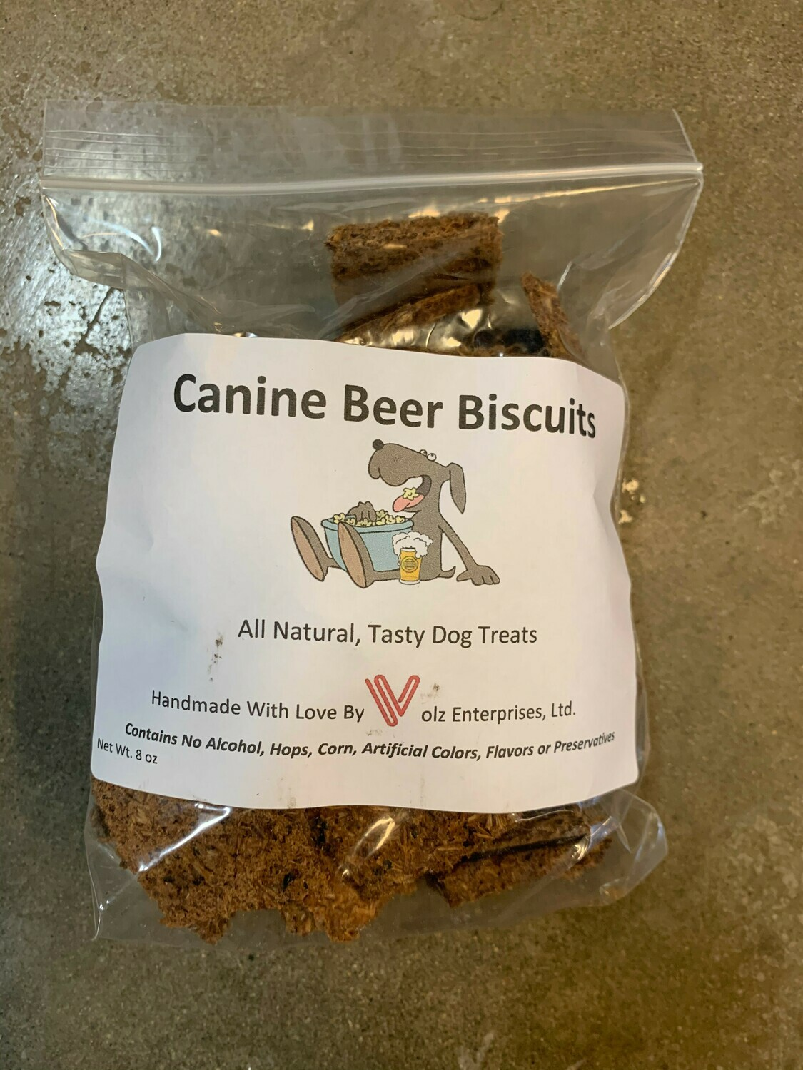 Canine Beer Biscuits