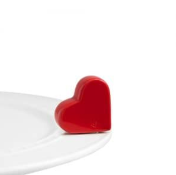 Nora Fleming Be Mine Heart Red Mini