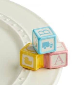 Nora Fleming Ohhh Baby Blocks Mini