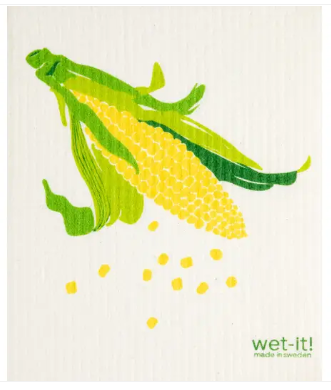 Wet-It Corn Swedish Dishcloth D