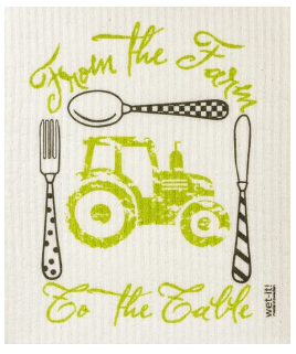 Wet-It Farm To Table Swedish Dishcloth