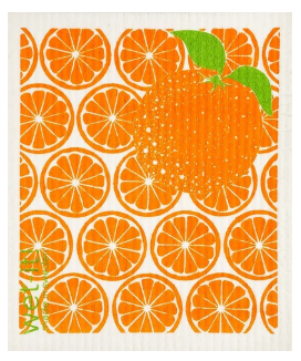 Wet-It Oranges Swedish Dishcloth