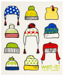 Wet-It Toboggan Swedish Dishcloth