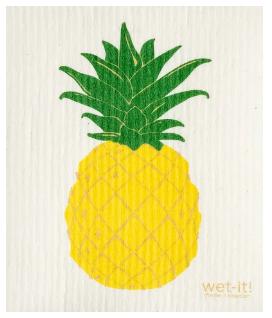 Wet-It Pineapple Swedish Dishcloth