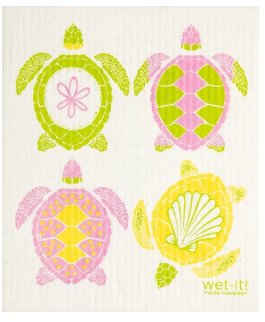 Wet-It 4 Turtles Swedish Dishcloth