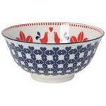 Now Designs 6 in Bowl - Red & Navy Bird
