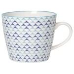 Now Designs Mug - Blue Triangles