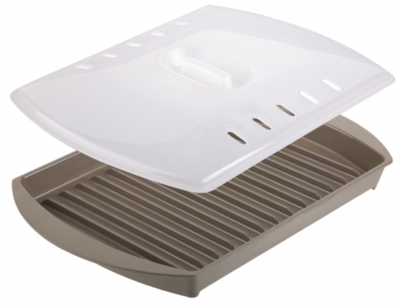 Progressive Small Bacon Grill with Lid