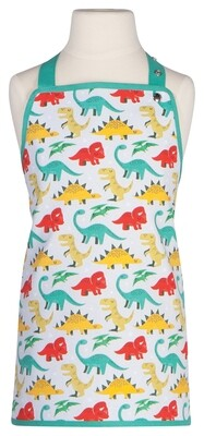 Now Designs Kids Apron - Dandy Dinos