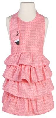 Now Designs Kids Apron - Flamingos