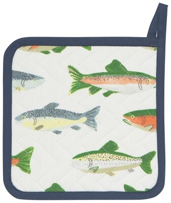 Now Designs Pot Holder - Gone Fishin'