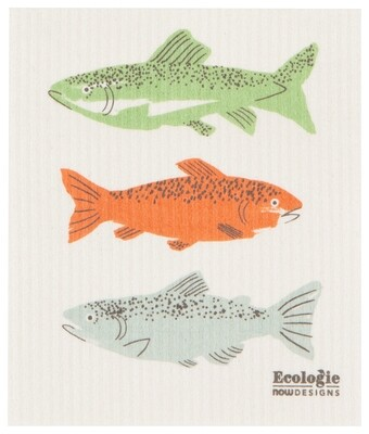 Now Designs Swedish Dishcloth - Gone Fishin'