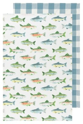 Now Designs Towel Set - Gone Fishin'