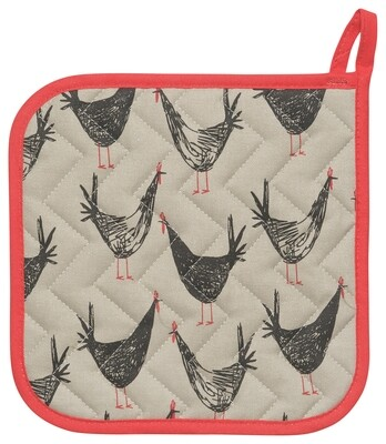 Now Designs Pot Holder - Chicken Scratch