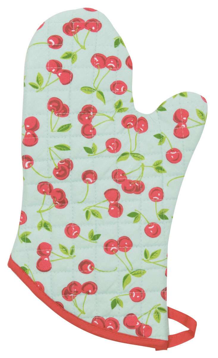 Now Designs Mitt - Cherries