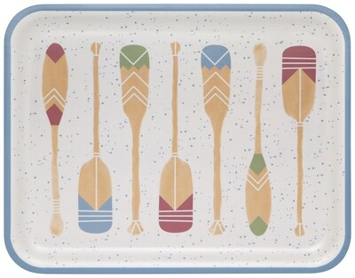 Now Designs Willow Tray - Lake Life
