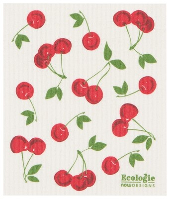 Now Designs Swedish Dishcloth - Cherries