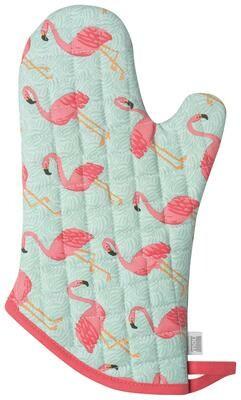 Now Designs Mitt - Flamingos