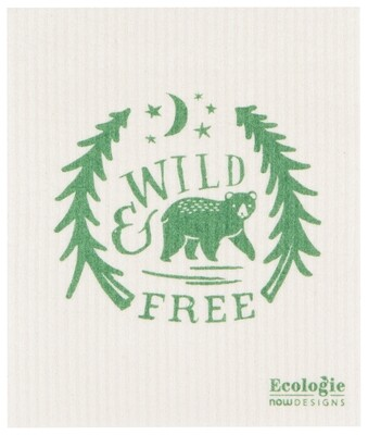 Now Designs Swedish Dishcloth - Wild & Free