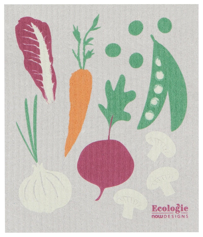 Now Designs Swedish Dishcloth - Veggies