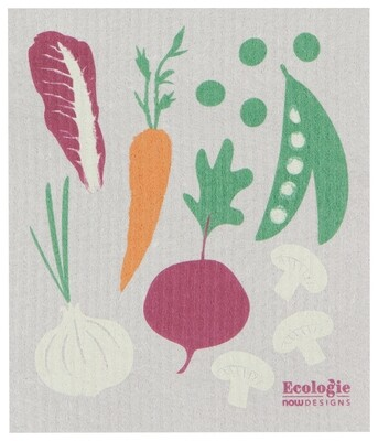 Now Designs Swedish Dishcloth - Veggies