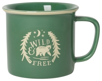 Now Designs Mug - Wild & Free