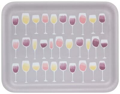 Now Designs Willow Tray - Wine Tasting