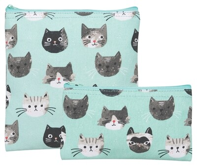 Now Designs Snack Bag Set - Cats Meow