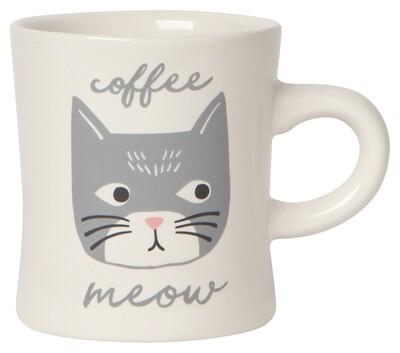 Now Designs Diner Mug - Cats Meow