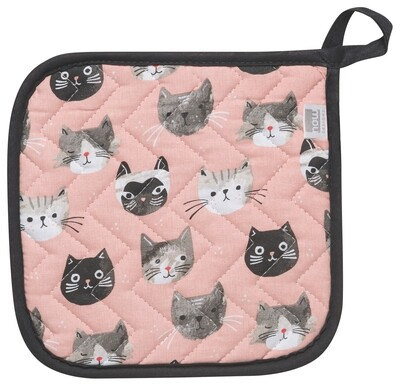 Now Designs Pot Holder - Cats Meow