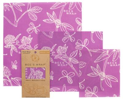 Bee's Wrap 3-Piece Assortment - Clover