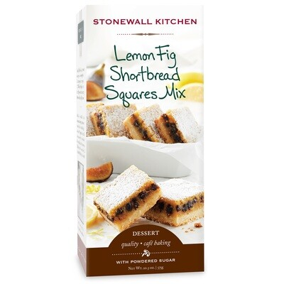 Stonewall Kitchen Lemon Fig Shortbread Baking Mix