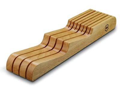 Victorinox Wood 7-Slot In-Drawer Knife Holder