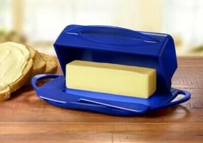 Butterie Butter Dish - Cobalt