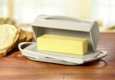 Butterie Butter Dish - Ivory