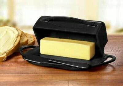 Butterie Butter Dish - Black