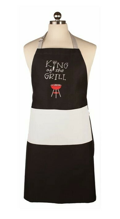 Mu Apron - King of the Grill