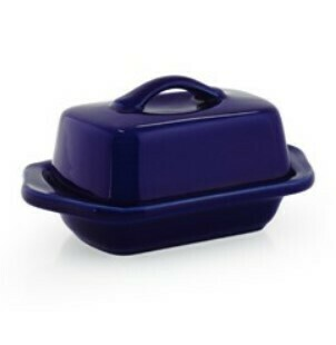 Chantal Mini Butter Dish - Cobalt Blue