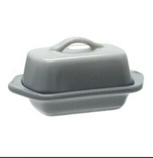 Chantal Mini Butter Dish - Fade Grey