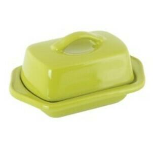 Chantal Mini Butter Dish - Olive Green