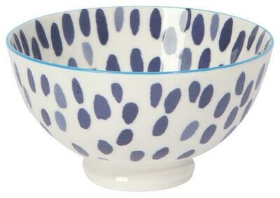Now Designs 4 in Bowl - Blue Spots