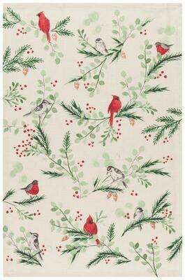 Now Designs Towel - Forest Birds