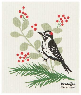 Now Designs Swedish Dishcloth - Forest Woodpecker
