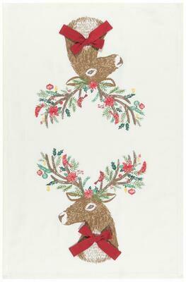 Now Designs Towel - Dasher Deer